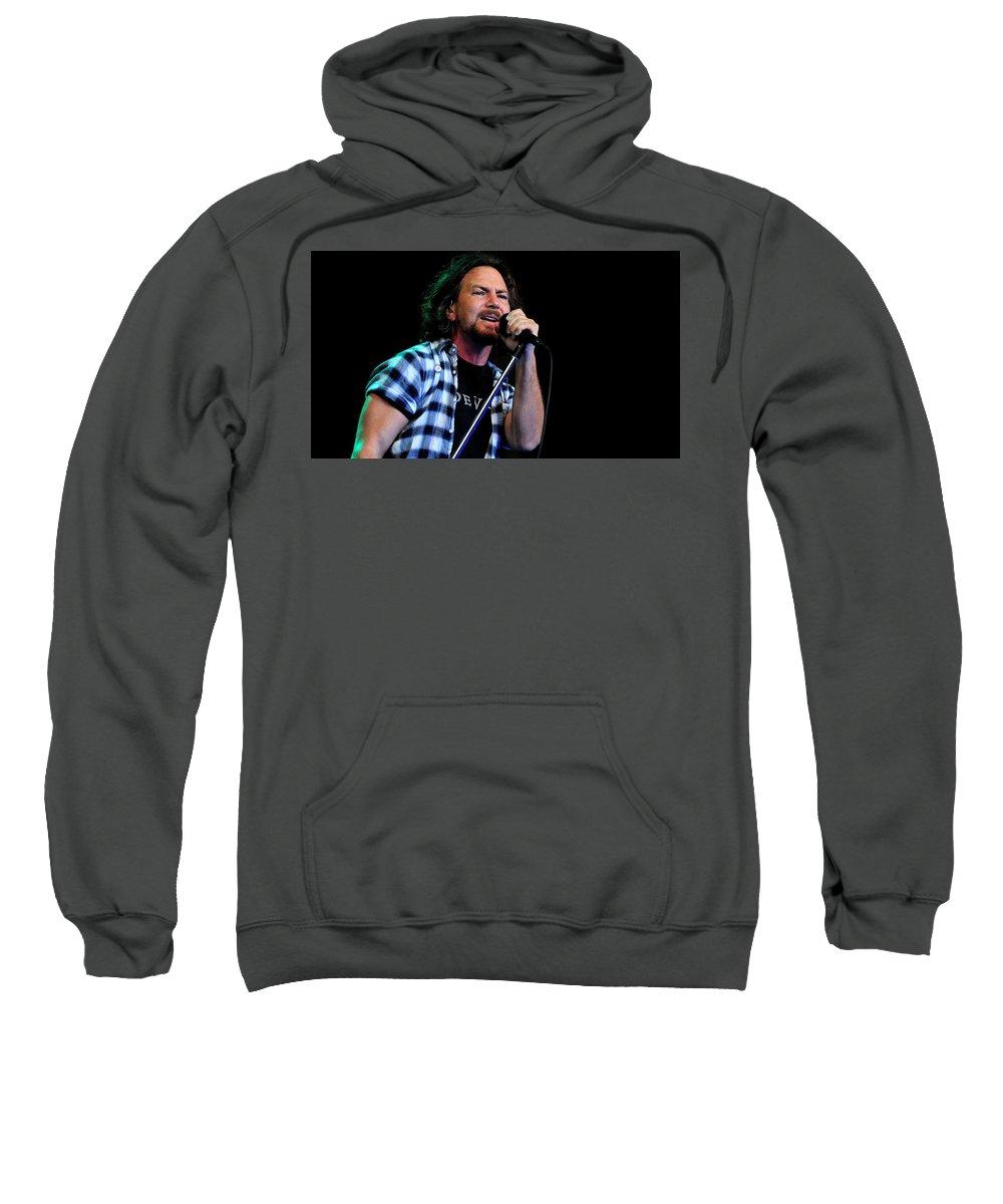 Pearl Jam Sweatshirt featuring the digital art Pearl Jam by Bert Mailer