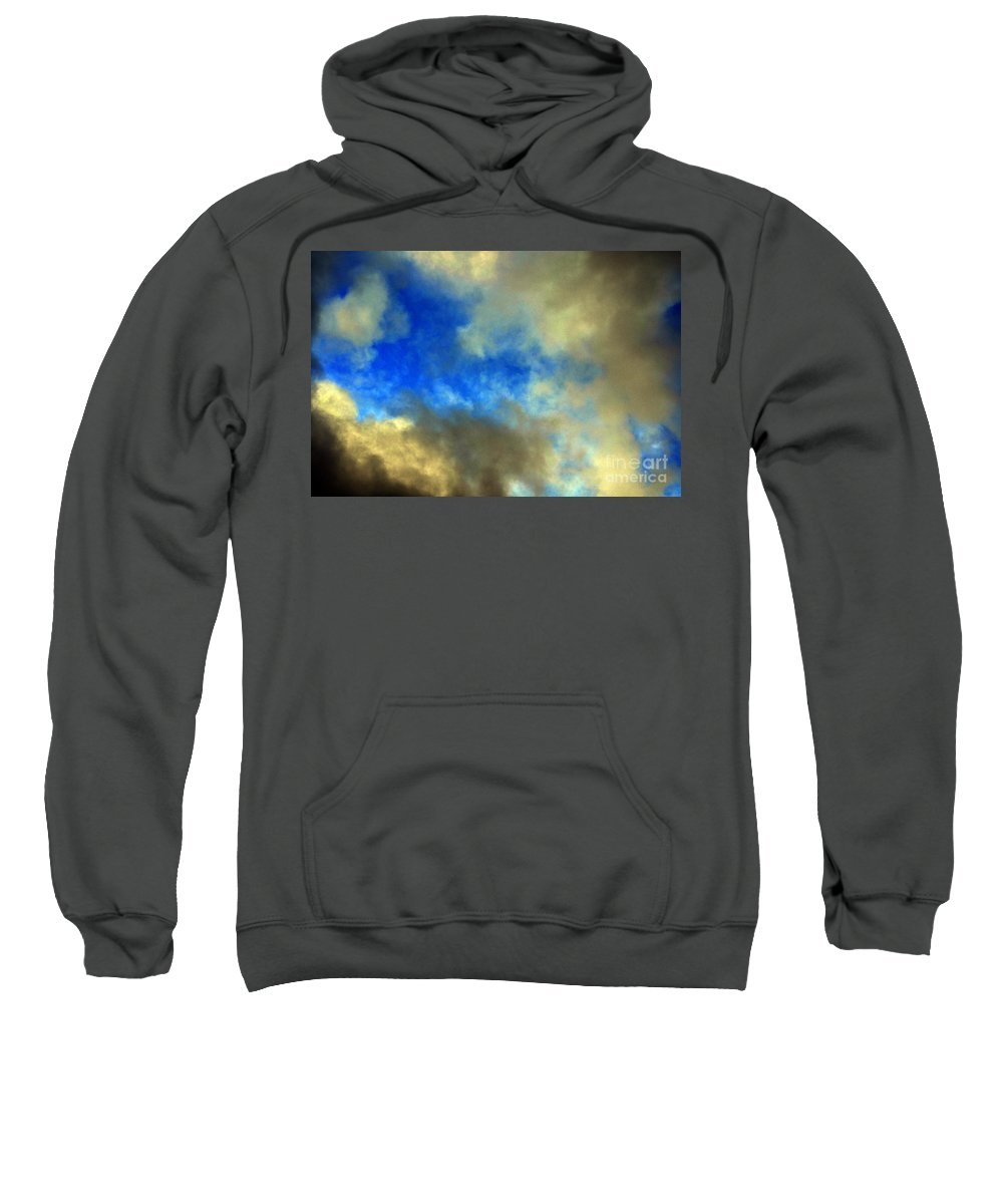 Clay Sweatshirt featuring the photograph Peeking Through by Clayton Bruster