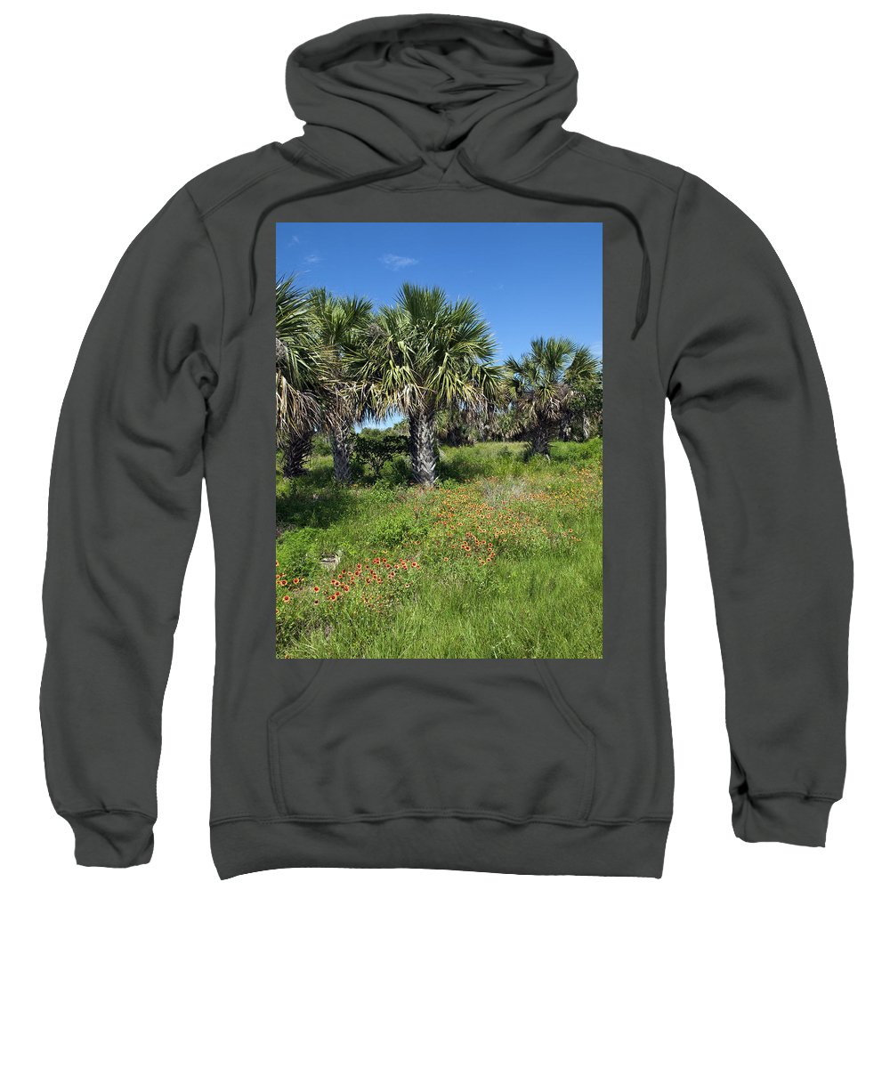 Florida Sweatshirt featuring the photograph Pelican Island In Florida by Allan Hughes