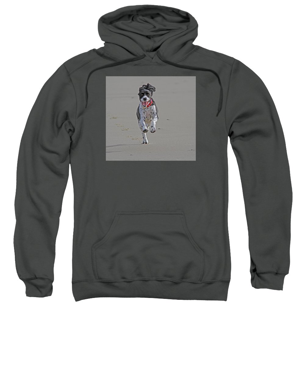 Pepper Sweatshirt featuring the photograph Pepper by Gary Wing