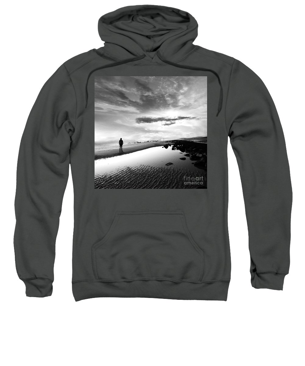 B&w Sweatshirt featuring the photograph Per Sempre by Jacky Gerritsen