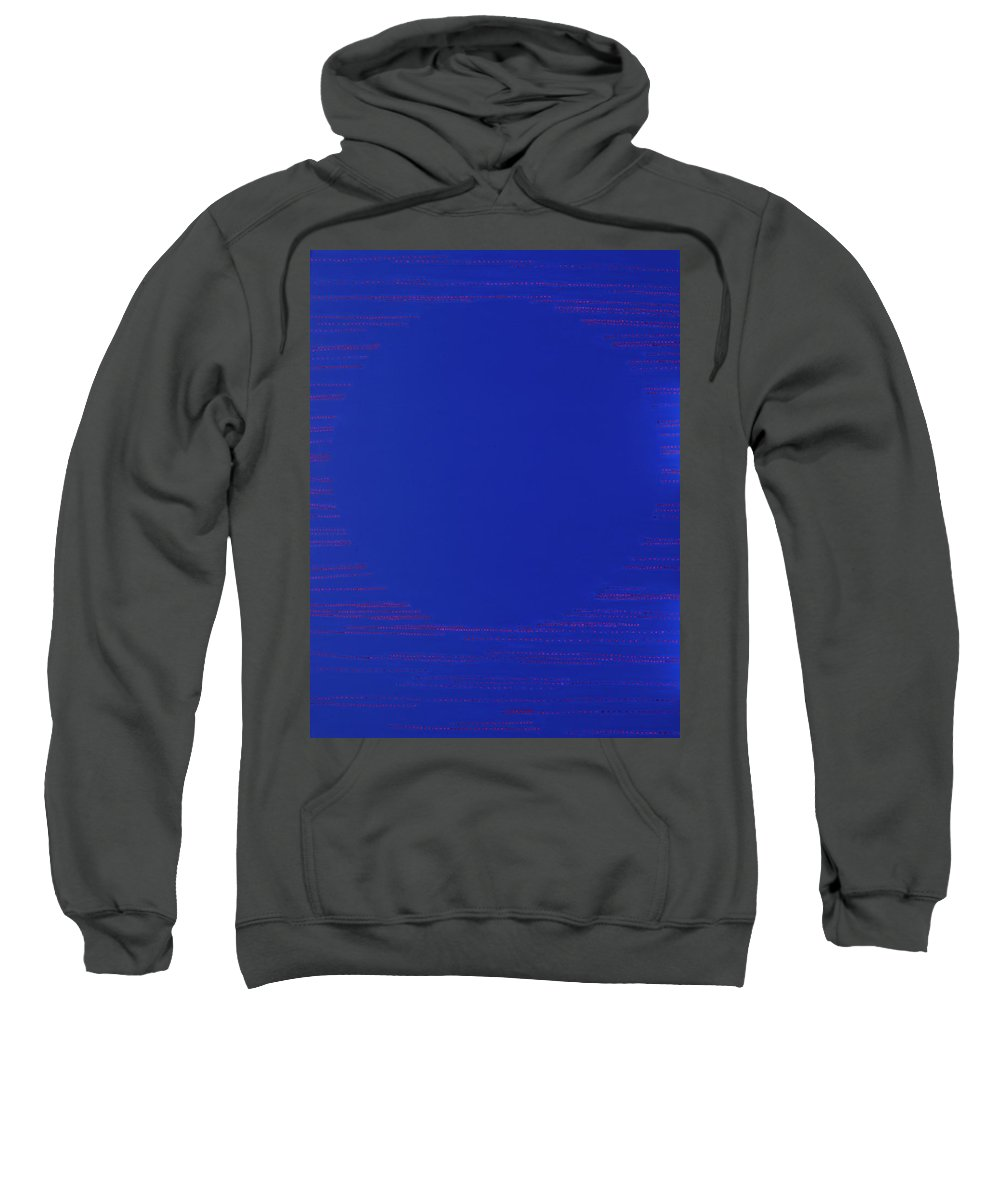 Spiritual Sweatshirt featuring the painting Perfect Existence by Kyung Hee Hogg