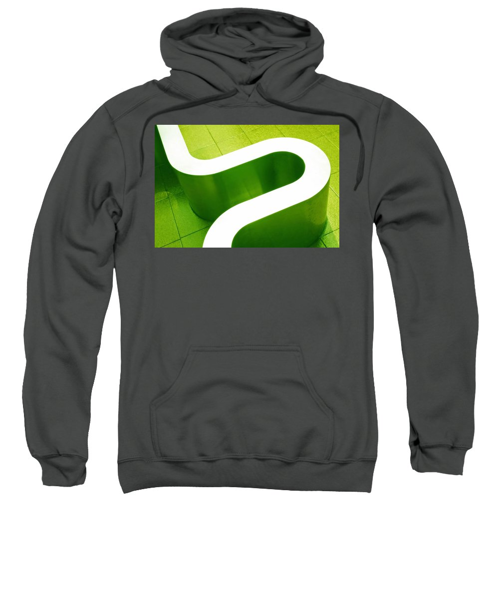 Abstract Sweatshirt featuring the photograph Pharmacia by Skip Hunt