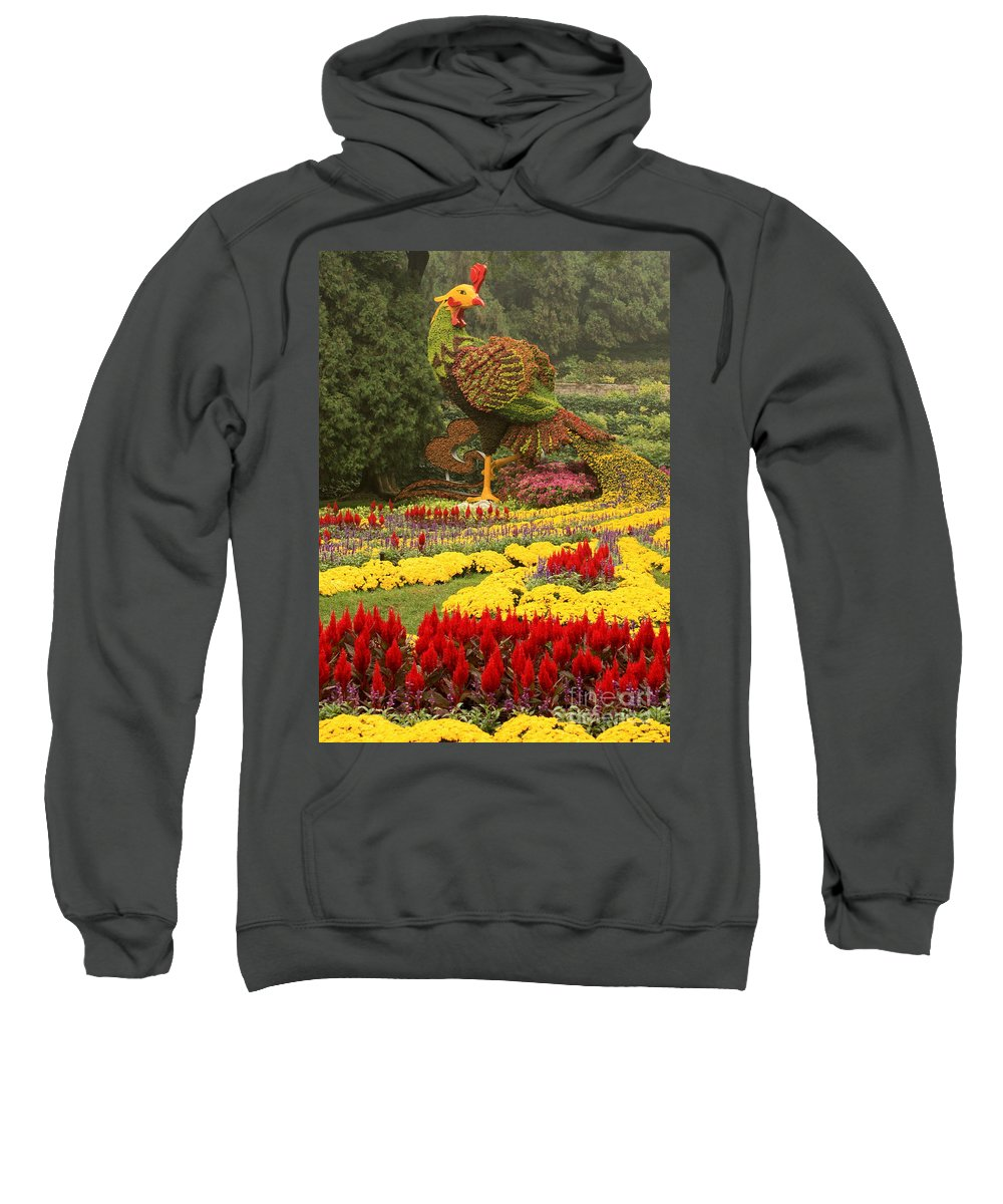 Summer Palace Sweatshirt featuring the photograph Phoenix In Summer Palace by Carol Groenen