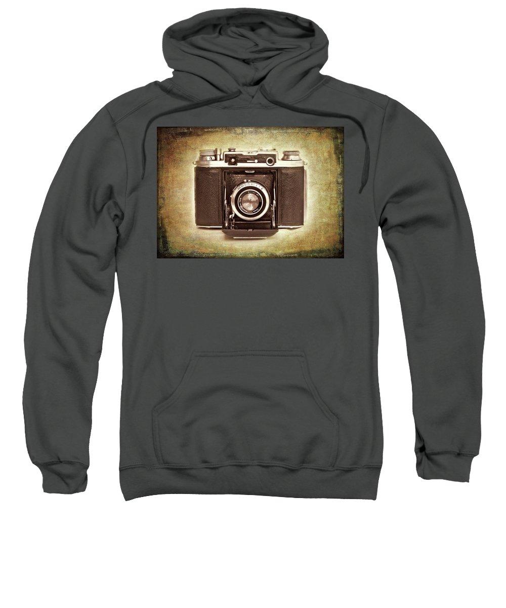 Nostalgia Sweatshirt featuring the photograph Photographer's Nostalgia by Meirion Matthias