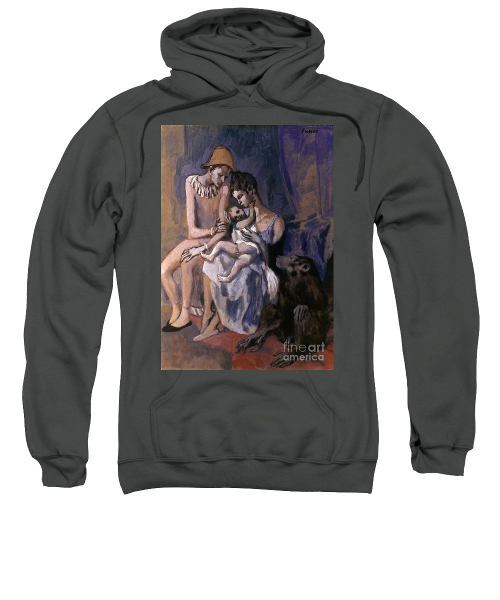 20th Century Sweatshirt featuring the photograph Picasso: Acrobats, 1905 by Granger