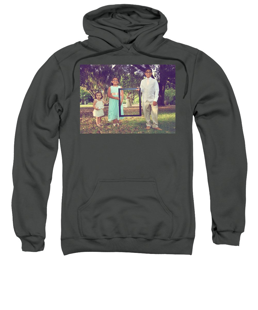 Weddings Sweatshirt featuring the photograph Picture Perfect by Laurie Search