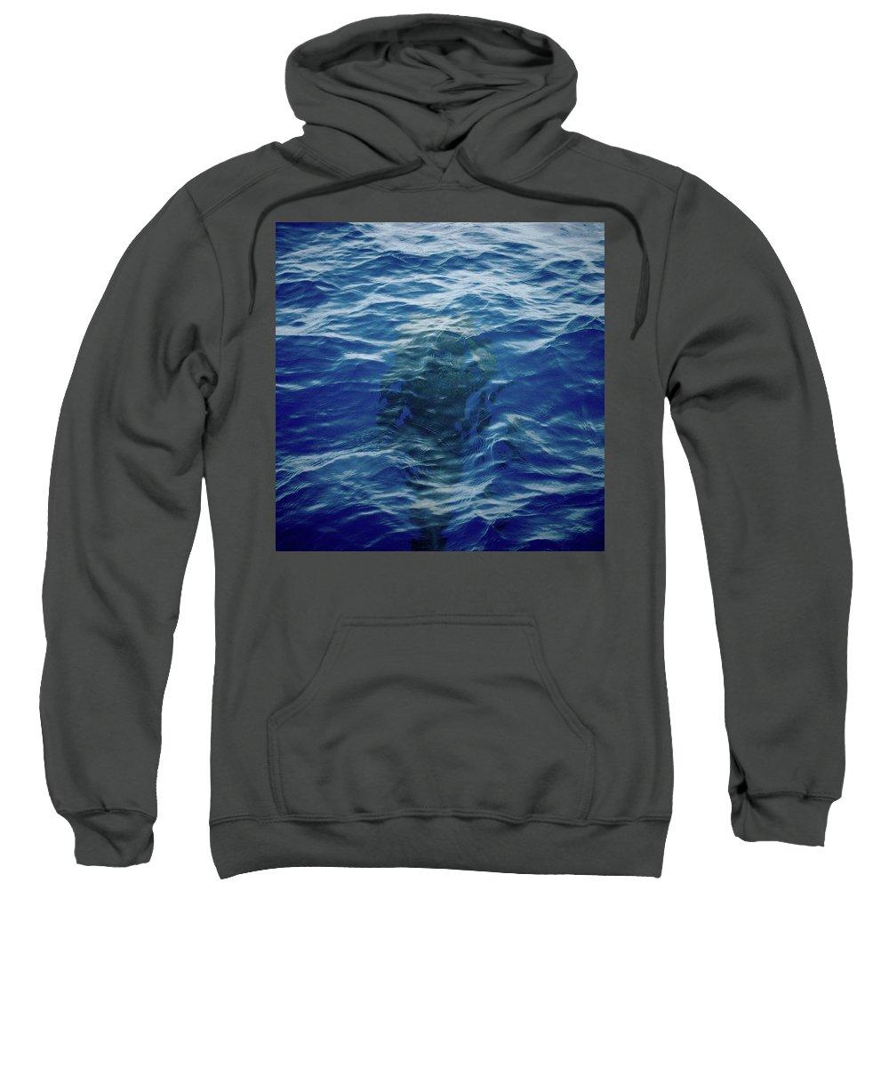 Valasretki Sweatshirt featuring the photograph Pilot Whale 9 The Mermaid by Jouko Lehto