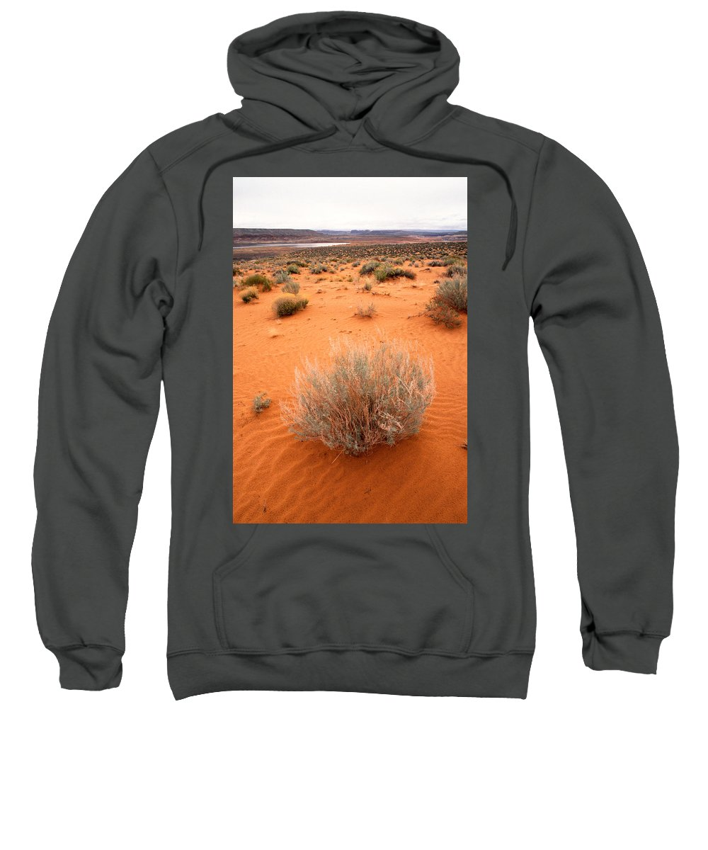 Lake Powell Sweatshirt featuring the photograph Pink Sand Of Lake Powell by Jerry McElroy