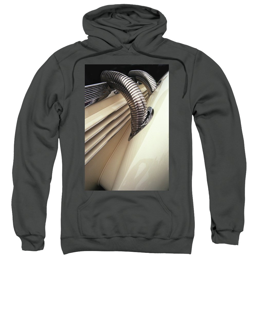Supercharger Sweatshirt featuring the photograph Piping Hot2 by Alan Olmstead