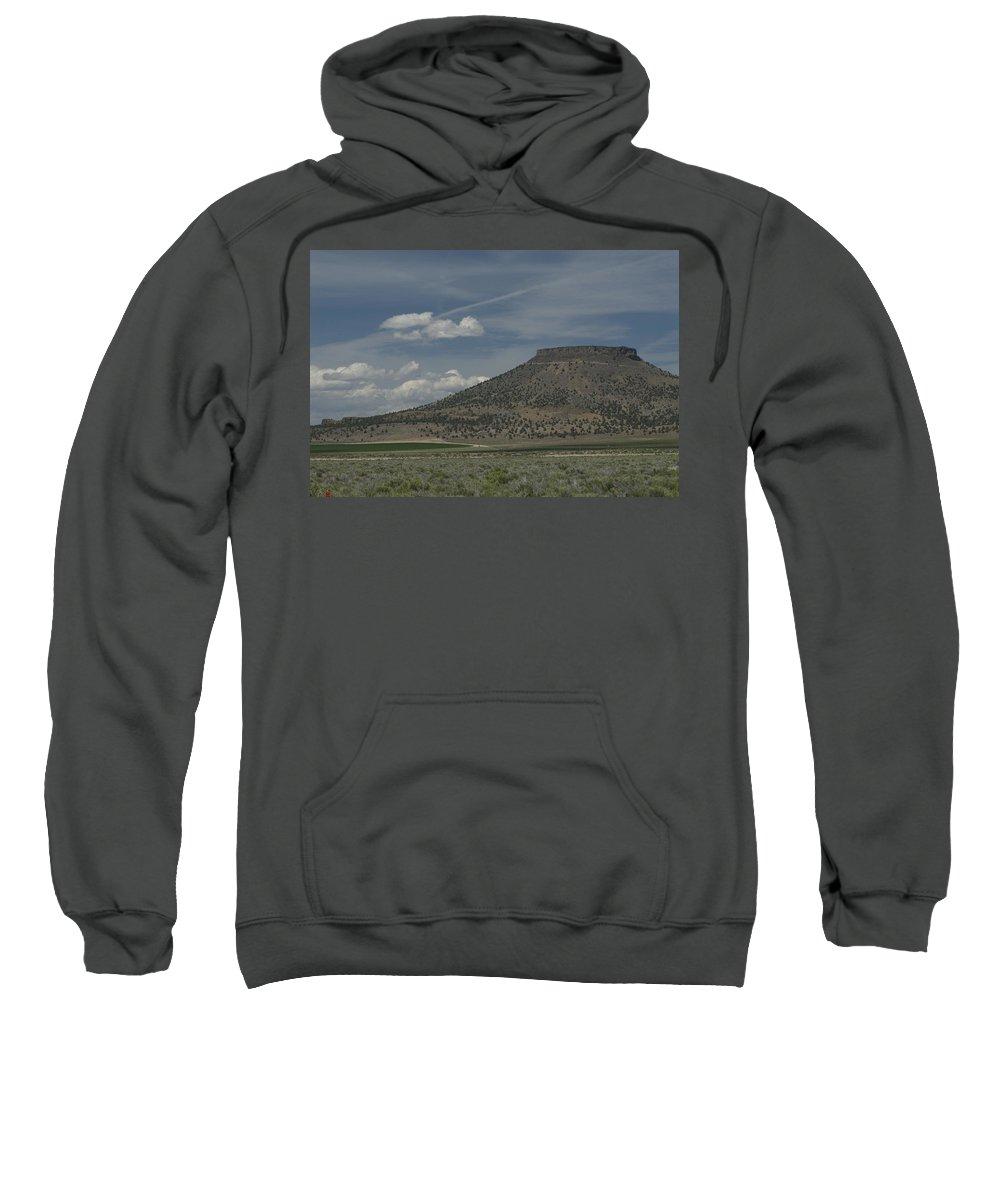 Desert Sweatshirt featuring the photograph Plateau by Sara Stevenson