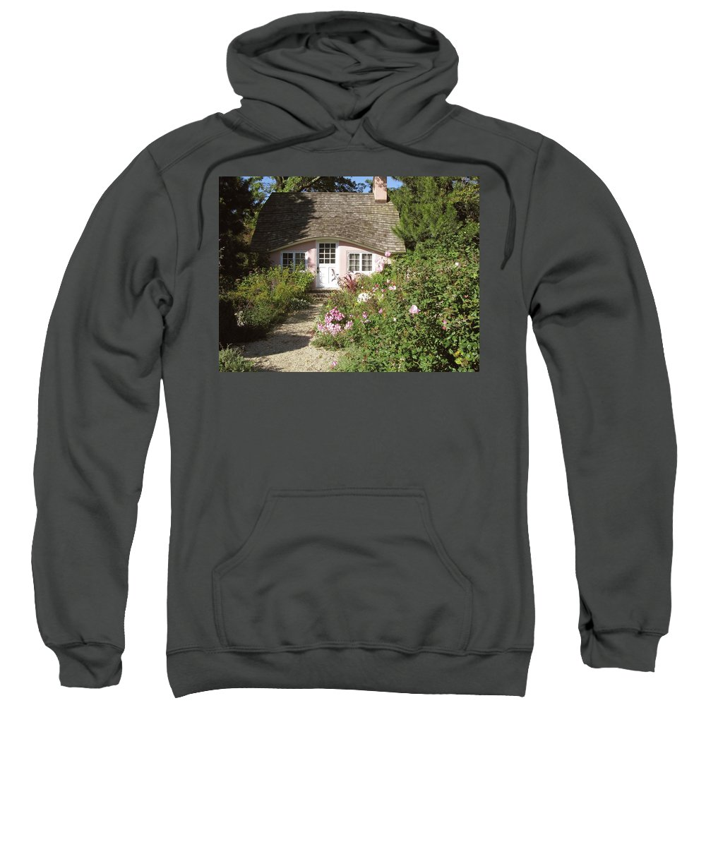 Planting Fields Sweatshirt featuring the photograph Play House / Planting Fields by Howard Rose