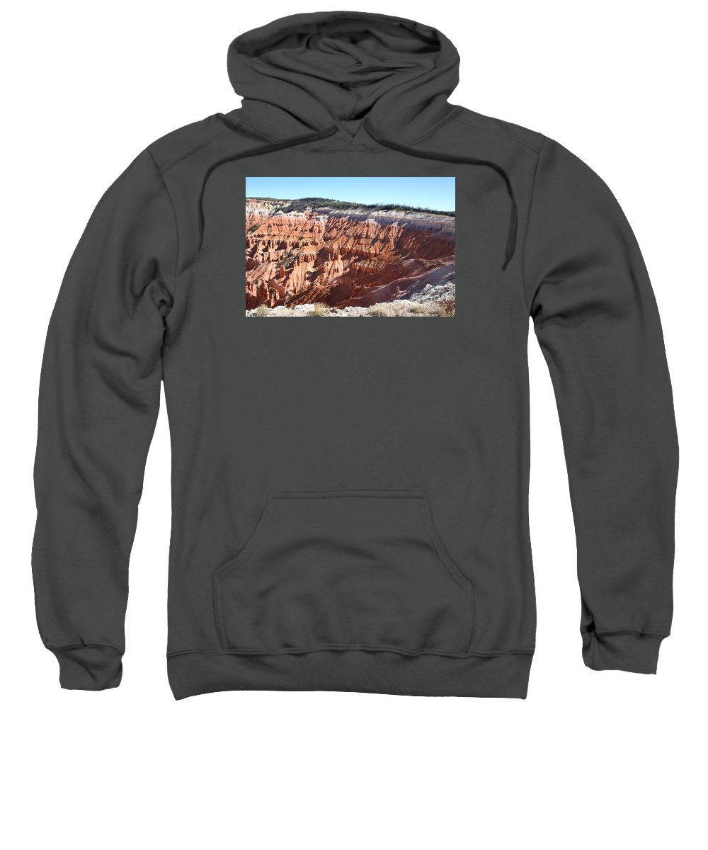 Amphitheater Sweatshirt featuring the photograph Point Supreme - Cedar Breaks by Christiane Schulze Art And Photography