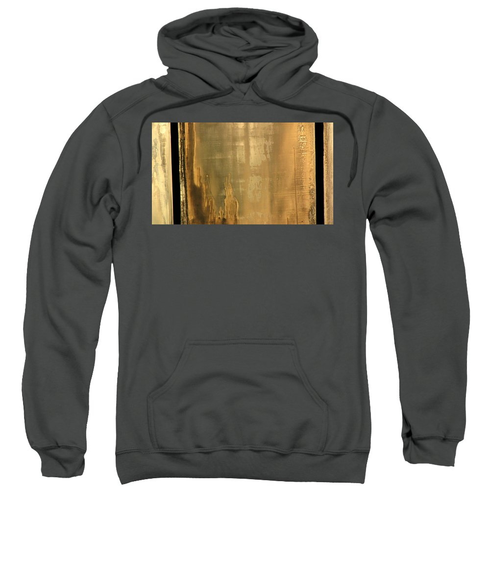Swimming Sweatshirt featuring the photograph Pool Reflections Three by Sarah Houser