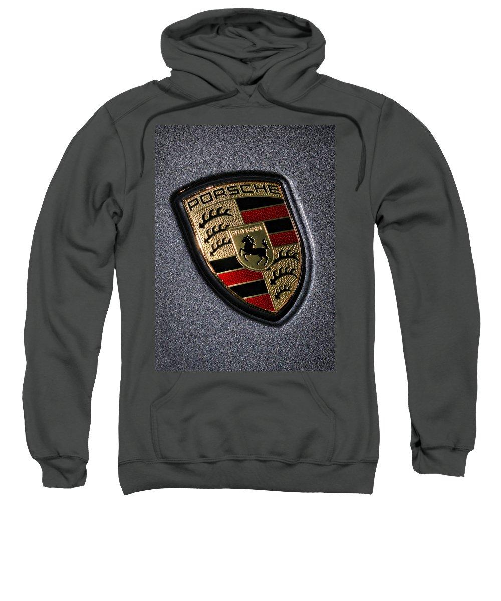 Porsche Sweatshirt featuring the photograph Porsche by Gordon Dean II