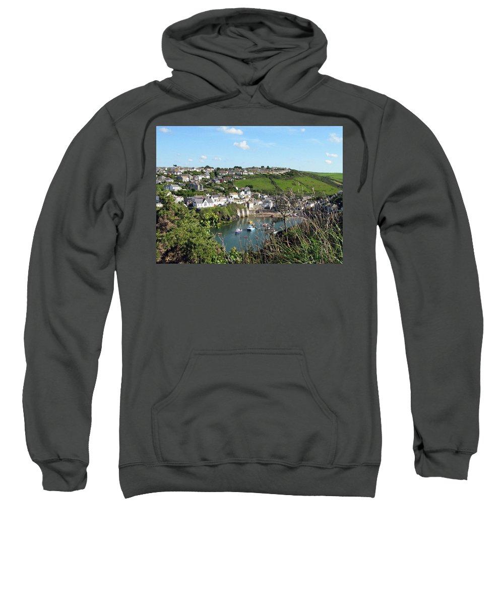 Port Isaac Sweatshirt featuring the photograph Port Isaac 1 by Kurt Van Wagner