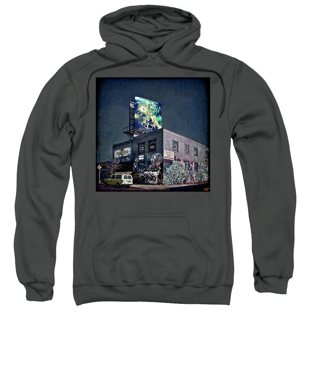 Graffiti Sweatshirt featuring the photograph Power Brakes by Chris Lord