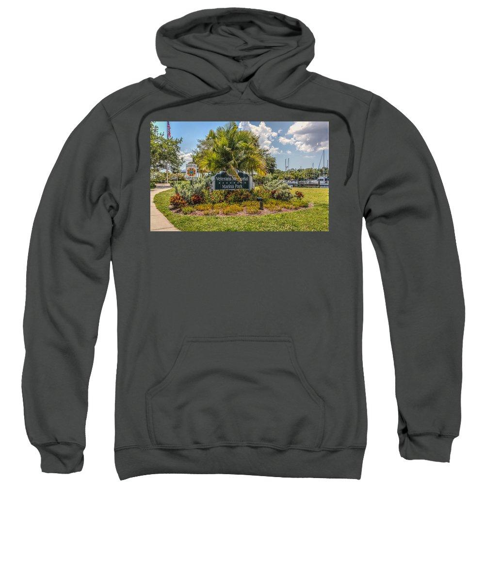 Florida Sweatshirt featuring the photograph Pretty Garden by Jane Luxton