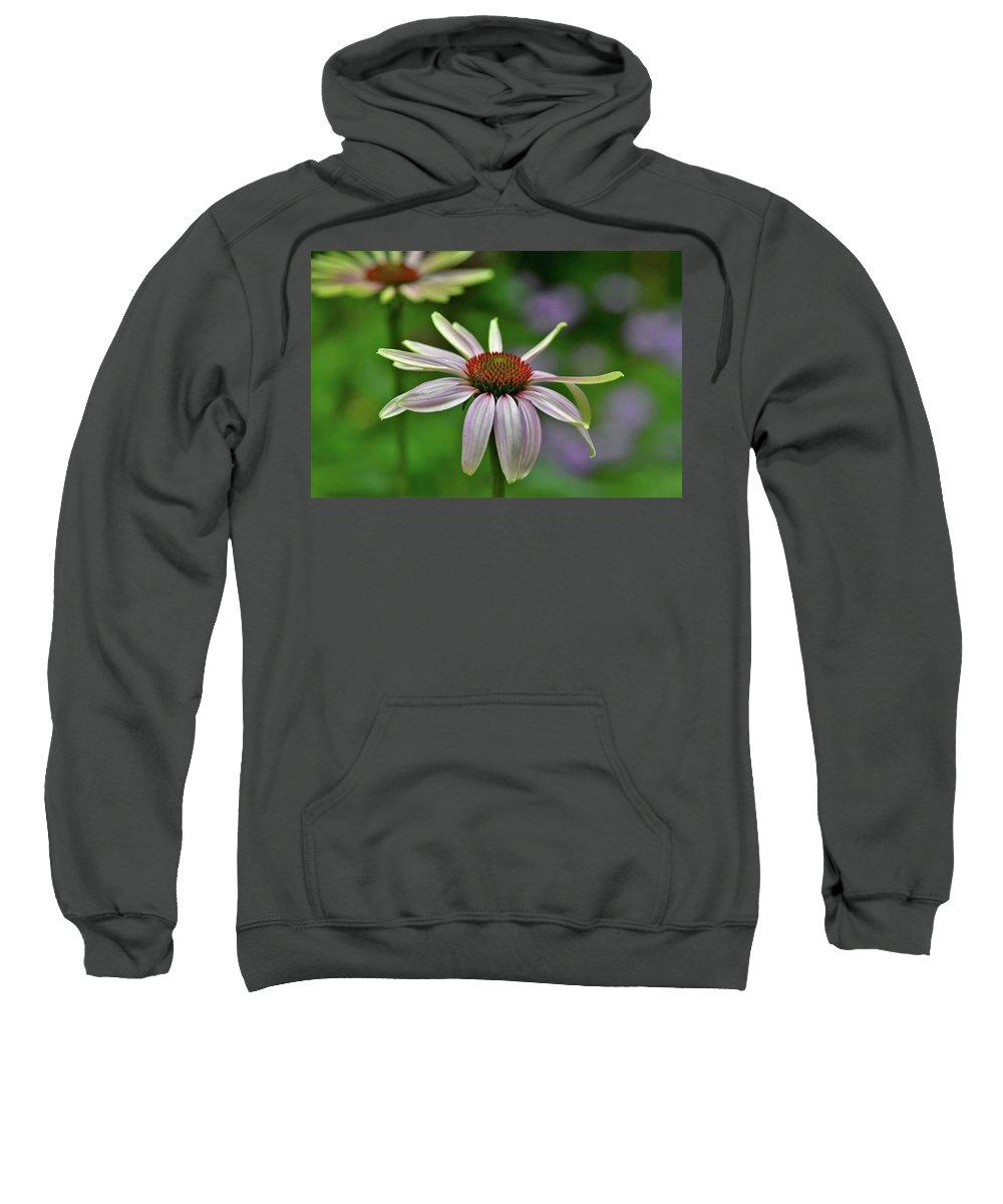 Sweatshirt featuring the photograph Pretty Girl by Glen Baker