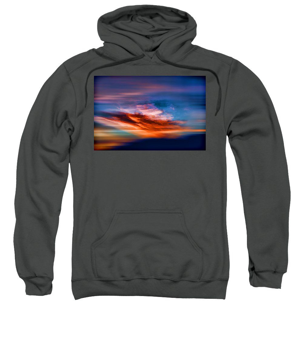 Evie Sweatshirt featuring the photograph Primary Energy by Evie Carrier