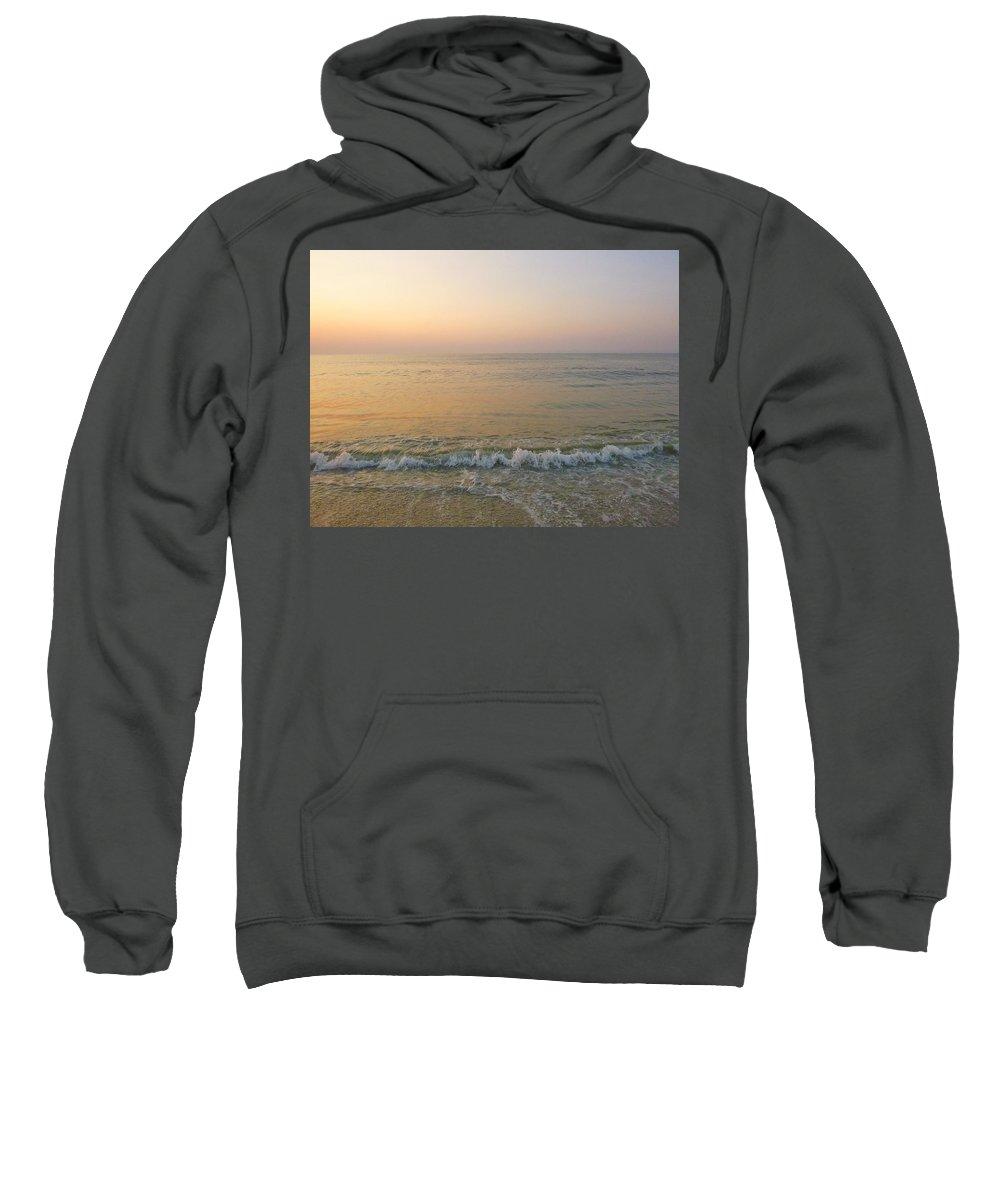 Sunrise Sweatshirt featuring the photograph Pristine by Ellen Paull