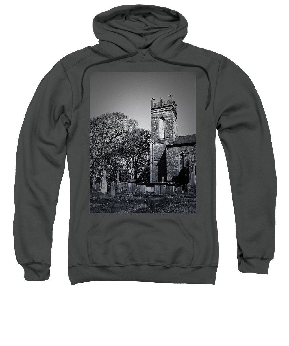 Irish Sweatshirt featuring the photograph Protestant Church Macroom Ireland by Teresa Mucha