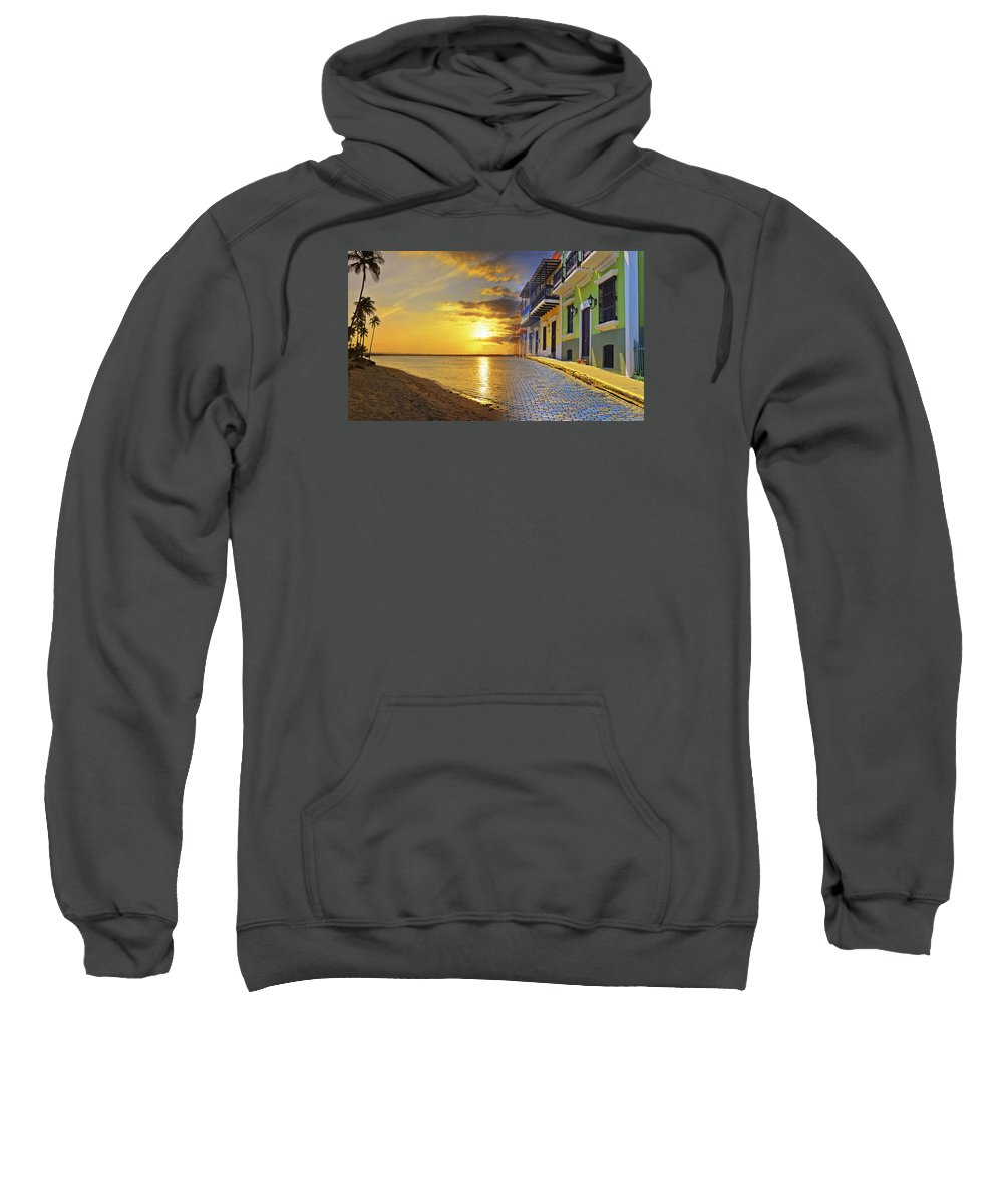 Puerto Rico Sweatshirt featuring the photograph Puerto Rico Montage 1 by Stephen Anderson