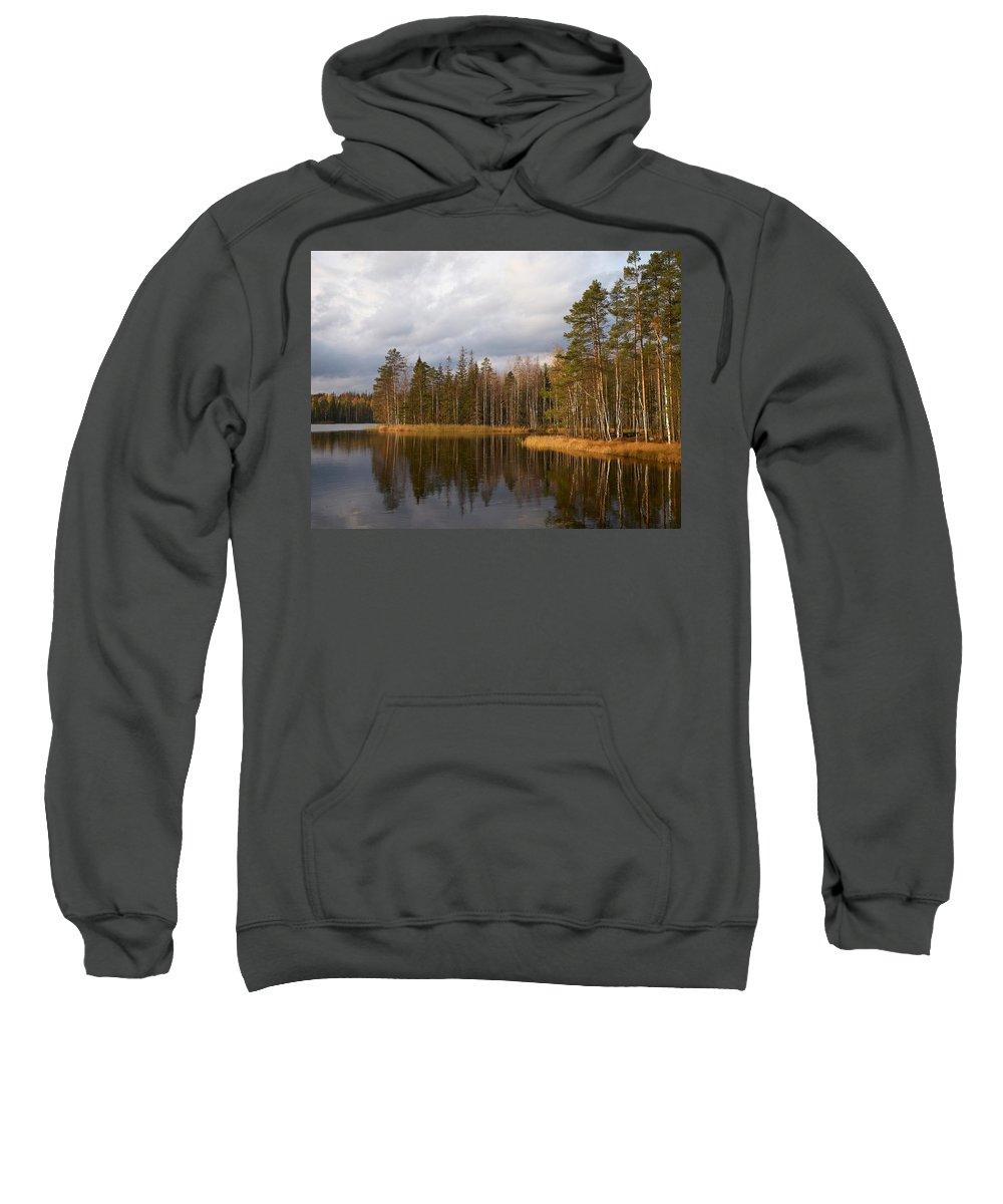 Lehtokukka Sweatshirt featuring the photograph Pukala 3 by Jouko Lehto