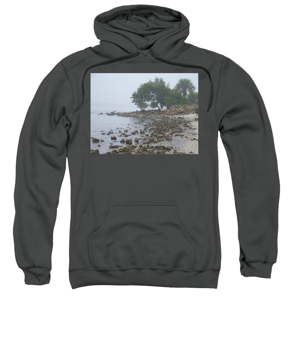 Mist Sweatshirt featuring the photograph Punta Gorda by Laurie Paci