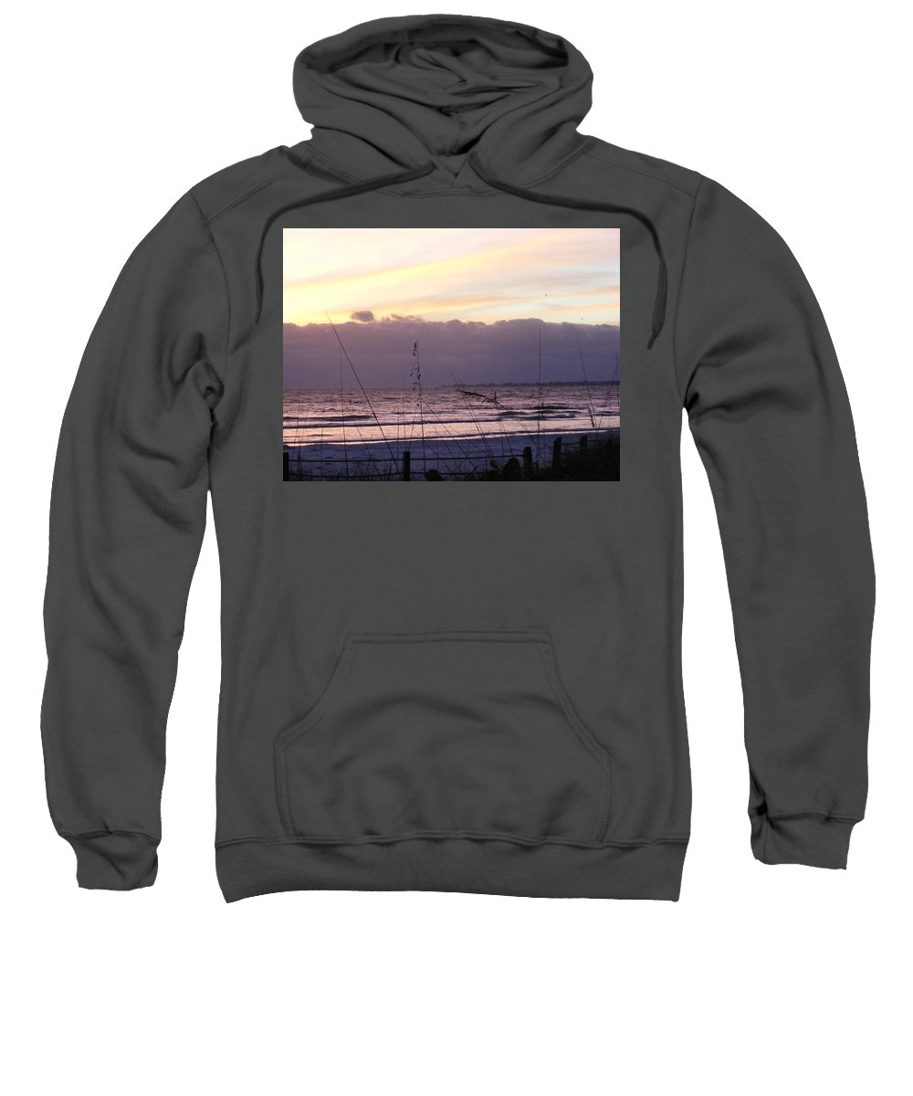 Landscape Sweatshirt featuring the photograph Purple Haze by Ed Smith