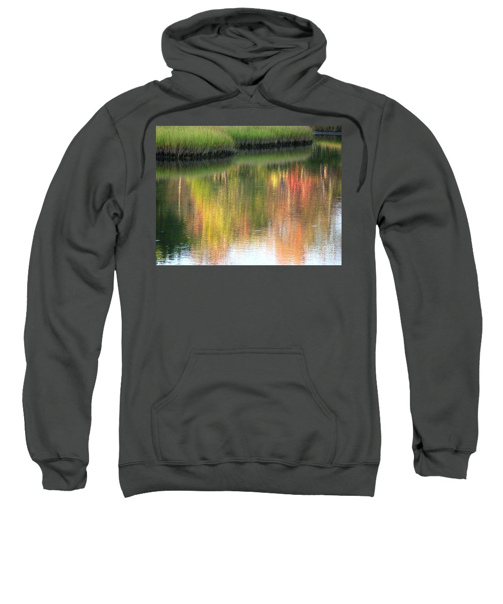 Water Sweatshirt featuring the photograph Quiet Inspiration by Sybil Staples