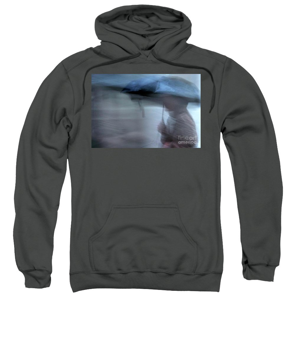 New Orleans Sweatshirt featuring the photograph Raining In New Orleans by Kathleen K Parker