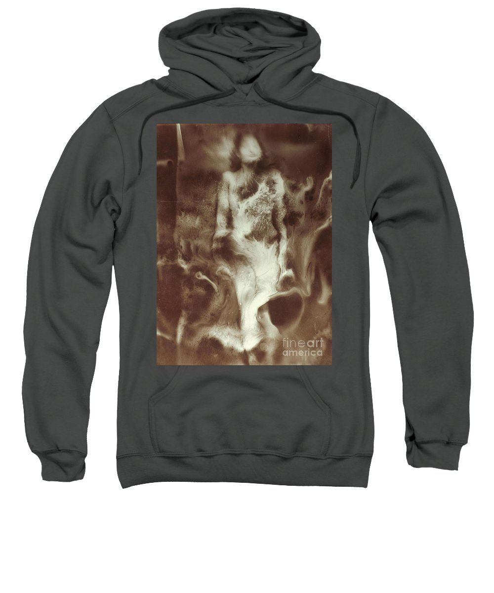 20th Century Sweatshirt featuring the photograph Raoul Ubac: The Nebula by Granger