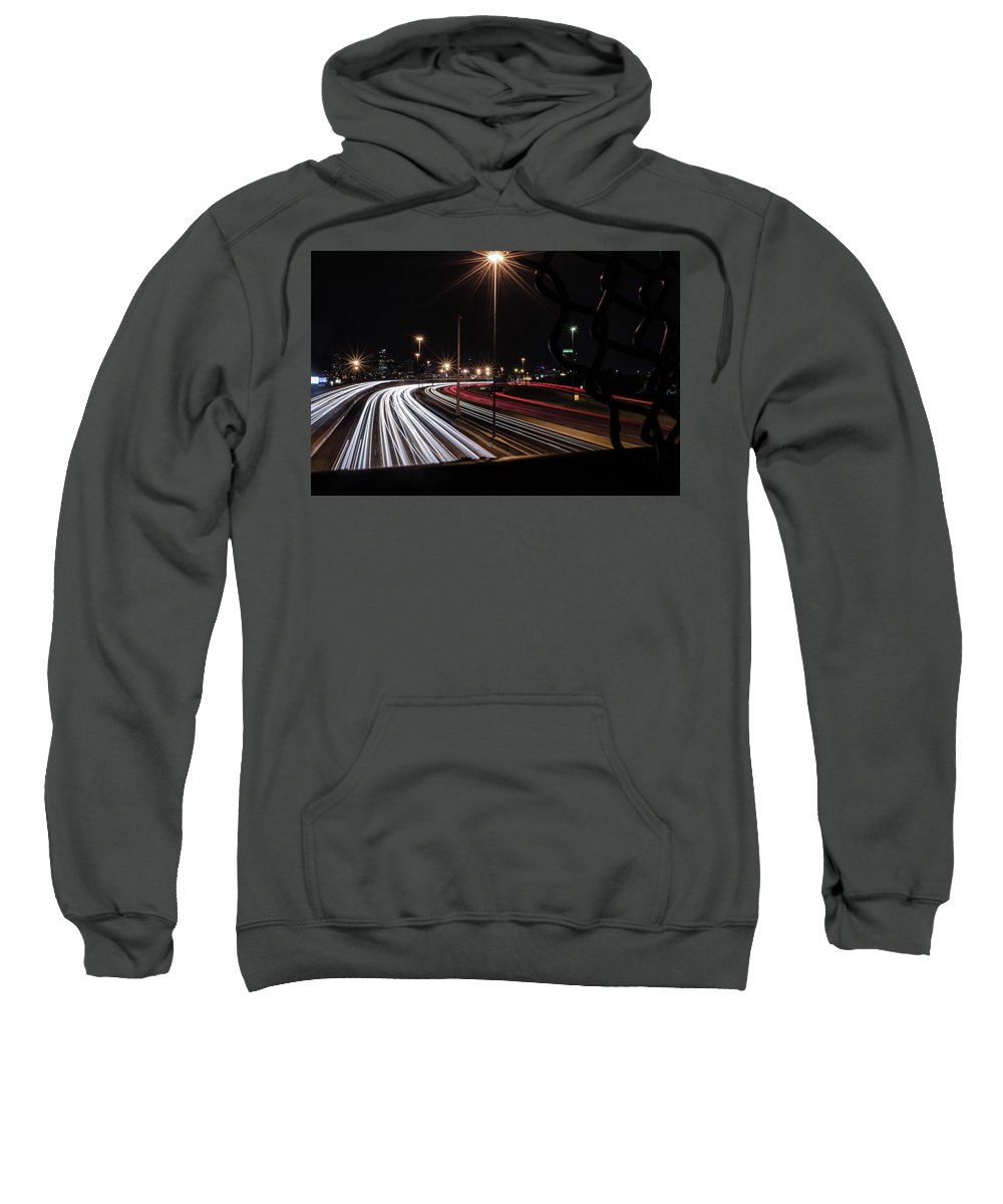 Denver Sweatshirt featuring the photograph Rat Race by Jeff Hettinger