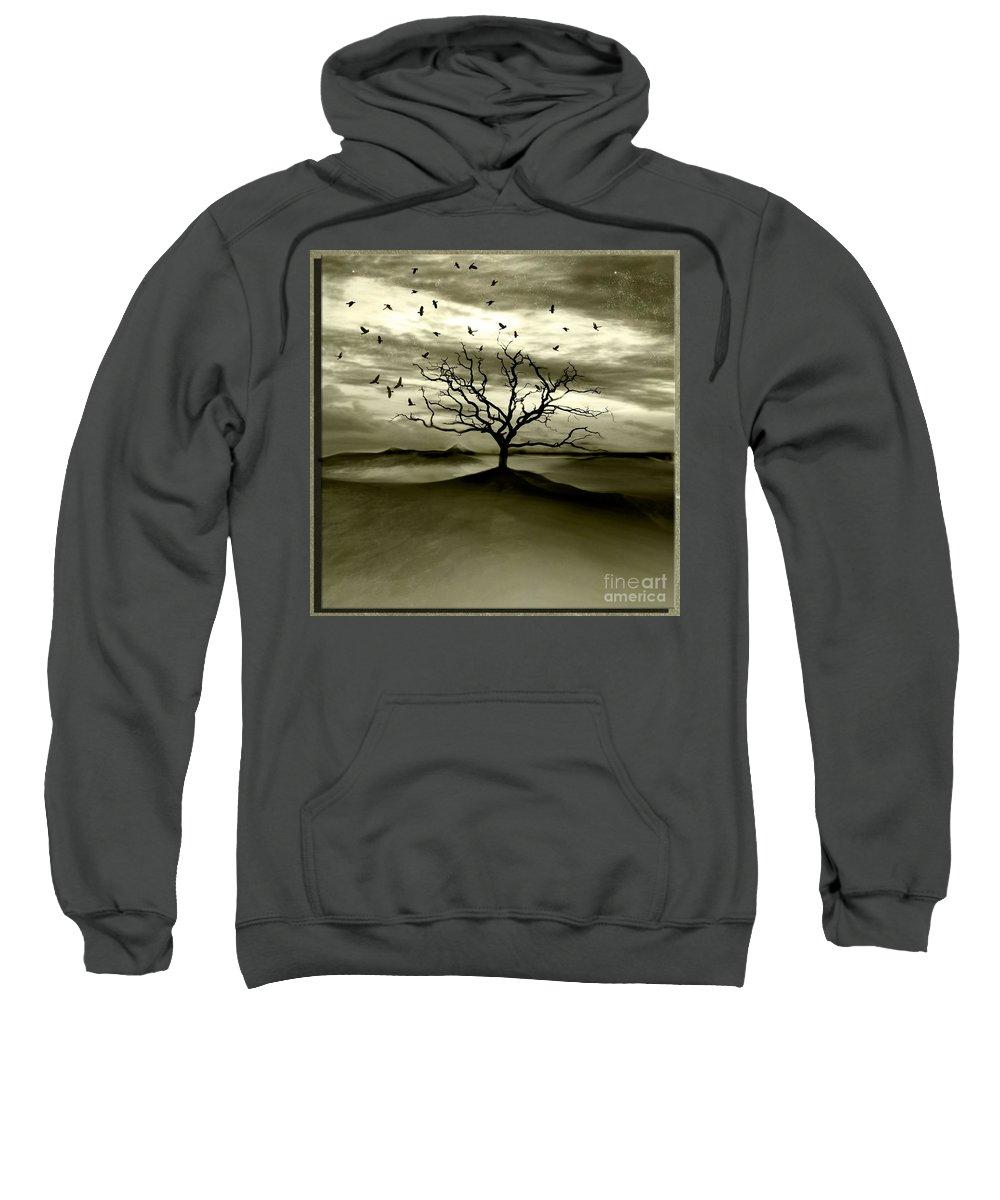 Landscape Sweatshirt featuring the photograph Raven Valley by Jacky Gerritsen