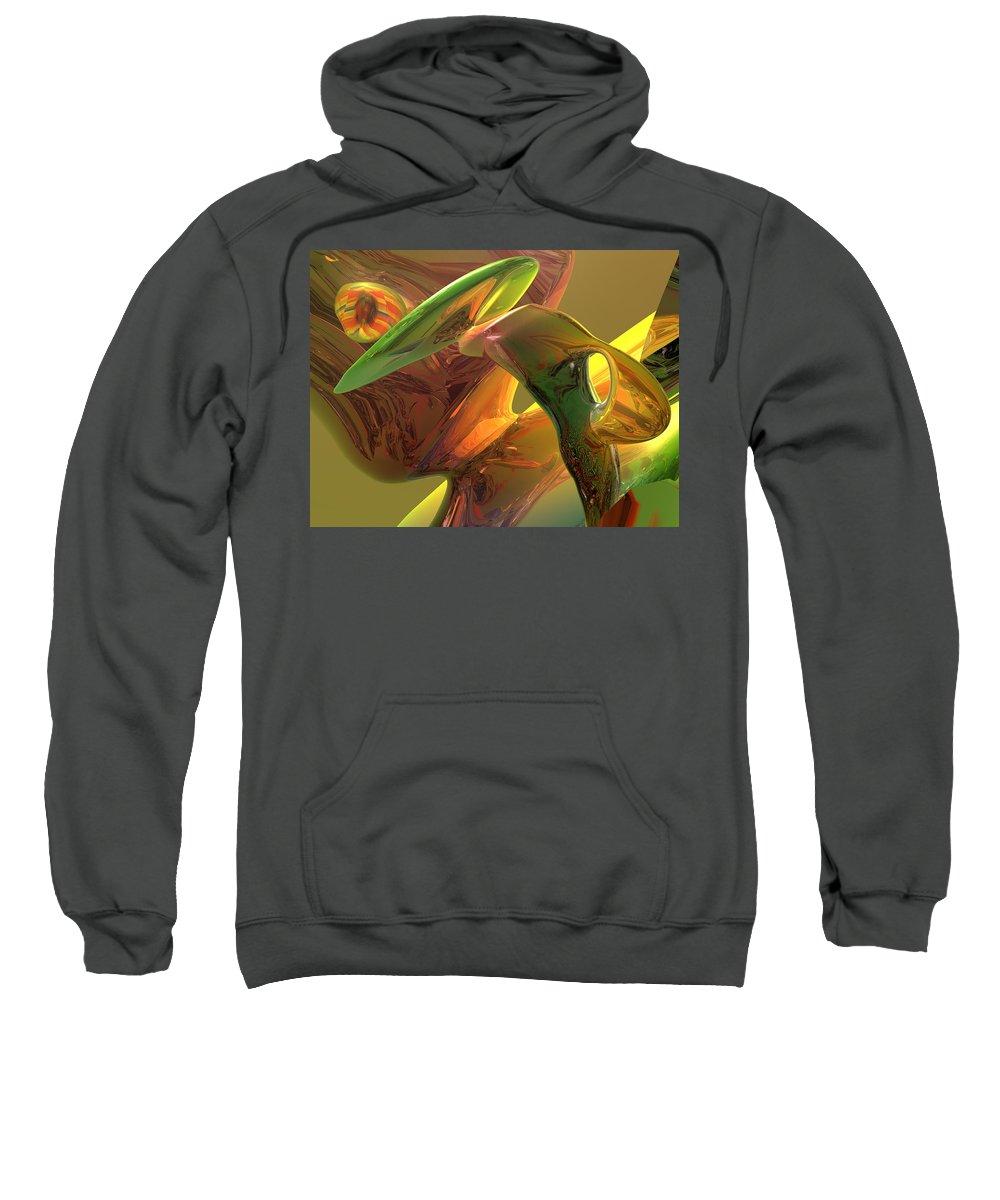 Scott Piers Sweatshirt featuring the painting RBG by Scott Piers