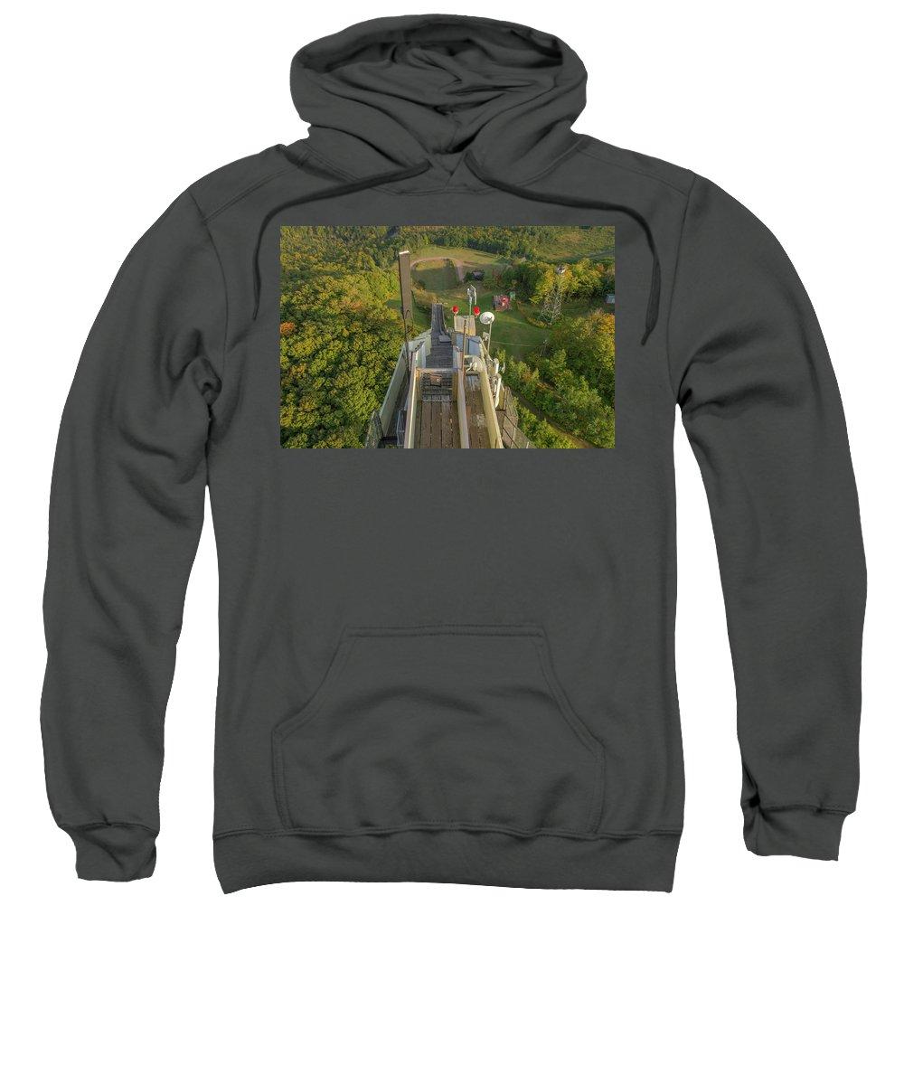 Marquette Sweatshirt featuring the digital art Ready? by Bradley J Nelson