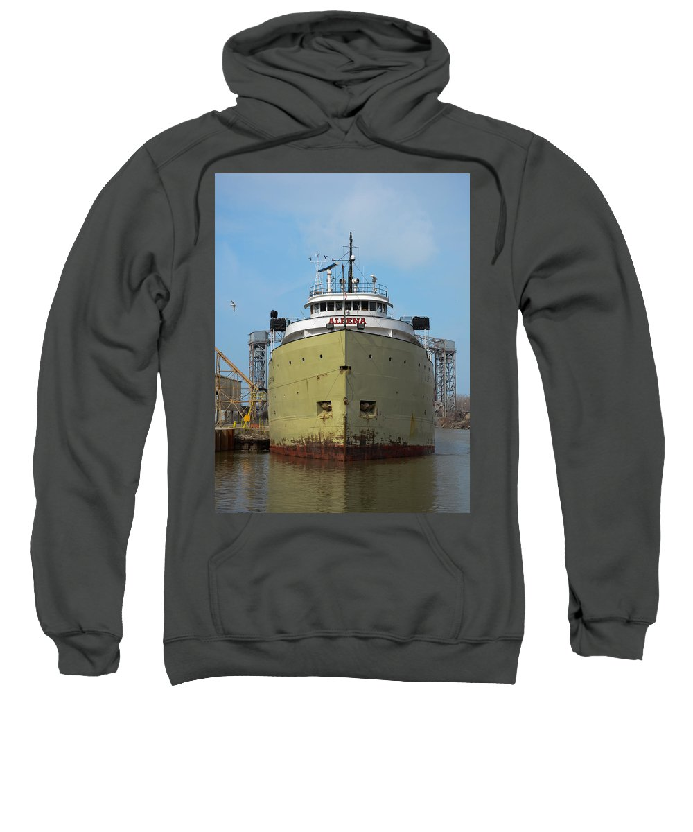Christopher List Sweatshirt featuring the photograph Ready To Sail by Gales Of November