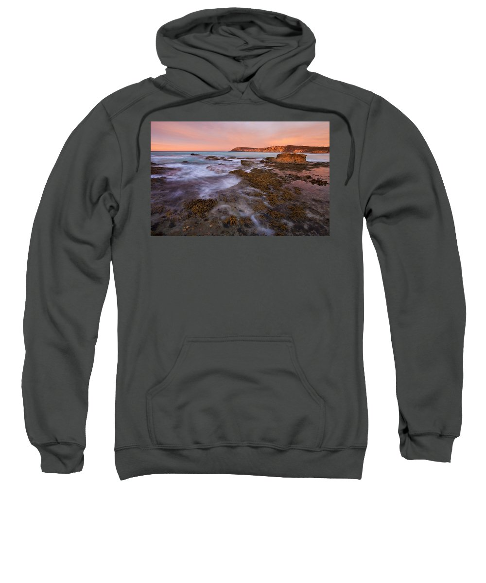Sunrise Sweatshirt featuring the photograph Red Dawning by Mike Dawson