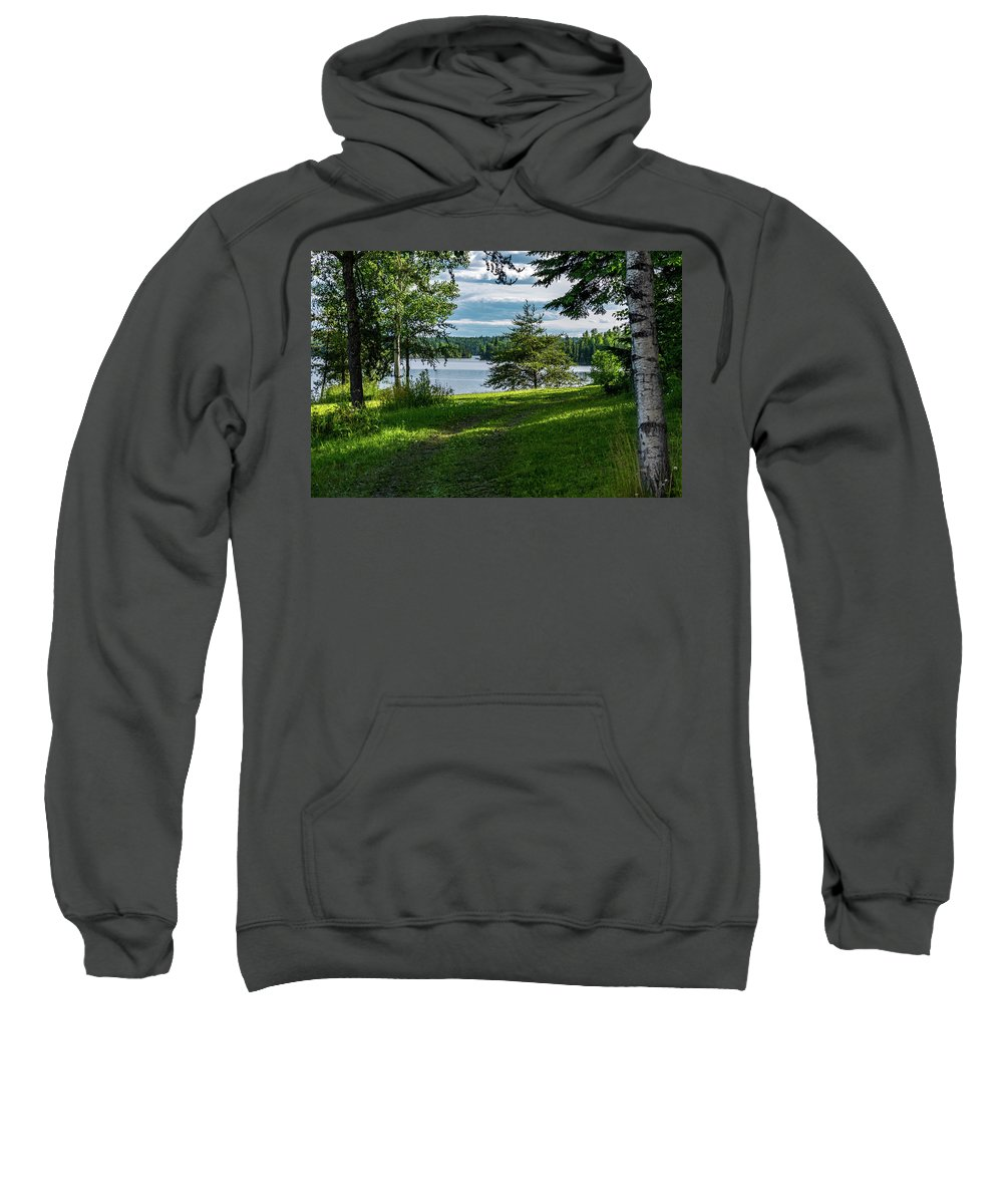 Lake Sweatshirt featuring the photograph Red Lake Ontario 2 by Keith Smith