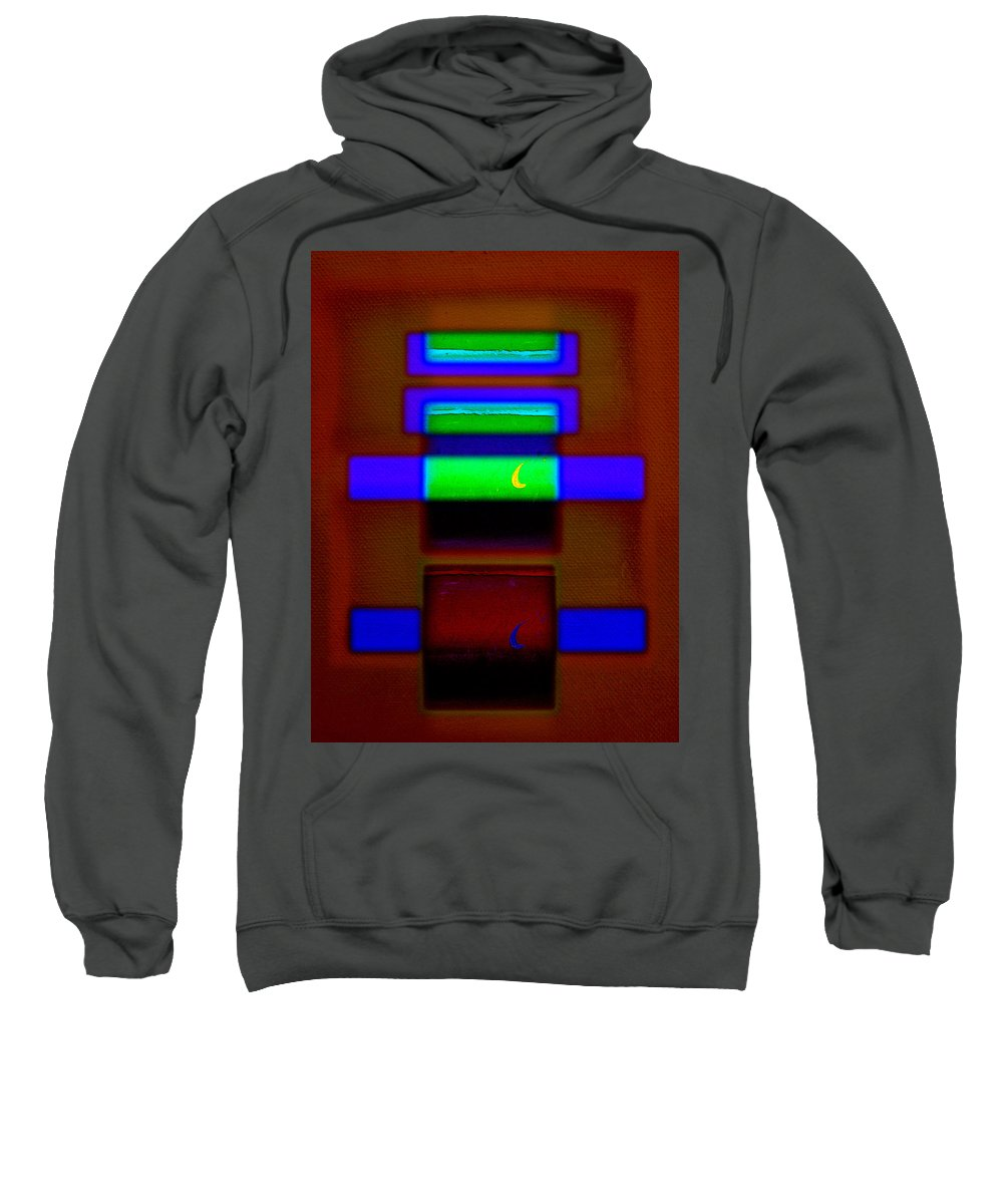 Rothko Sweatshirt featuring the painting Red Sea by Charles Stuart