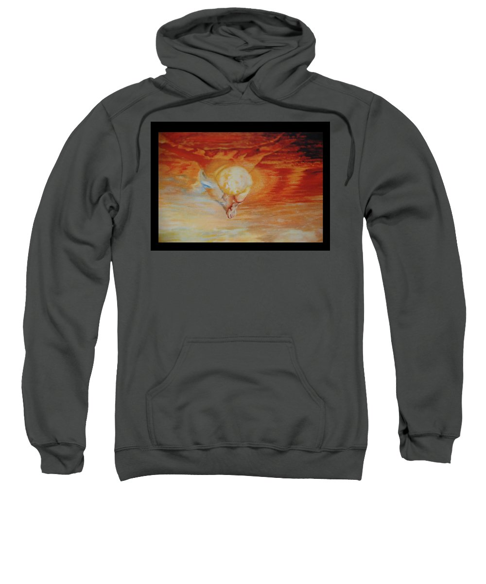 Angels Sweatshirt featuring the photograph Red Sky by Rob Hans