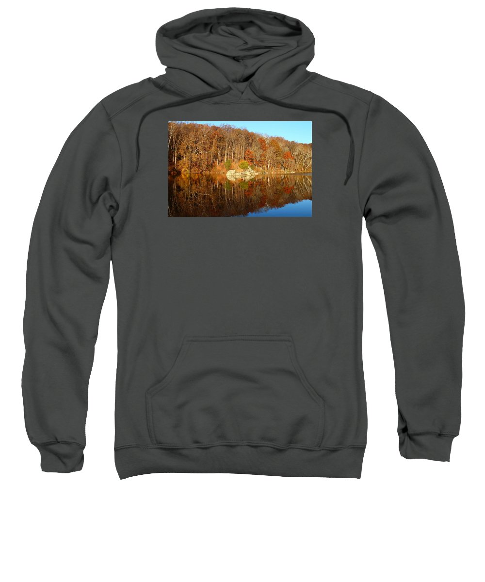 Landscape Sweatshirt featuring the photograph Reflection by Anastasia Barre