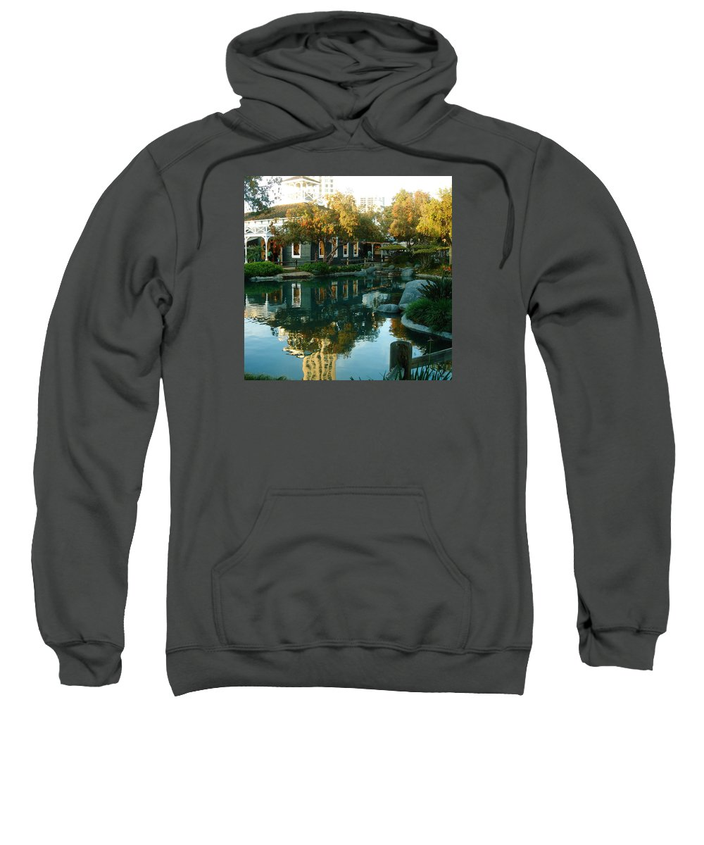 Photograph Sweatshirt featuring the photograph Reflection by Ayse Belgin Bal