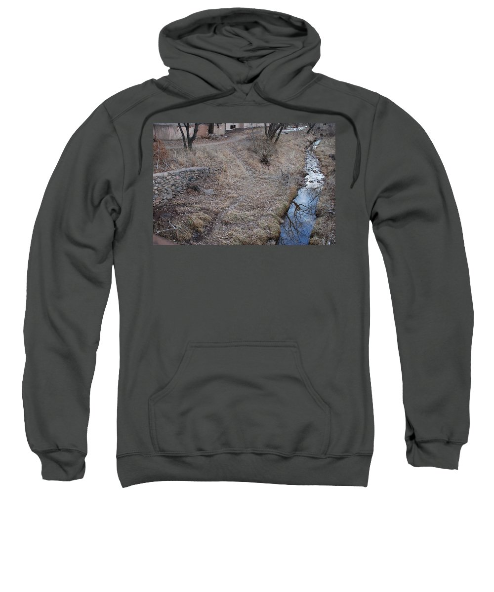 Water Sweatshirt featuring the photograph Reflections In The River by Rob Hans