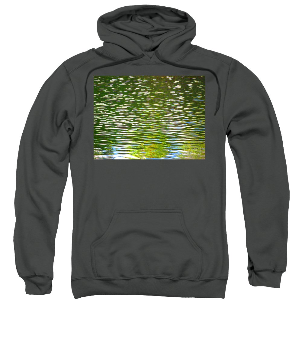 Water Sweatshirt featuring the photograph Relaxation by Sybil Staples