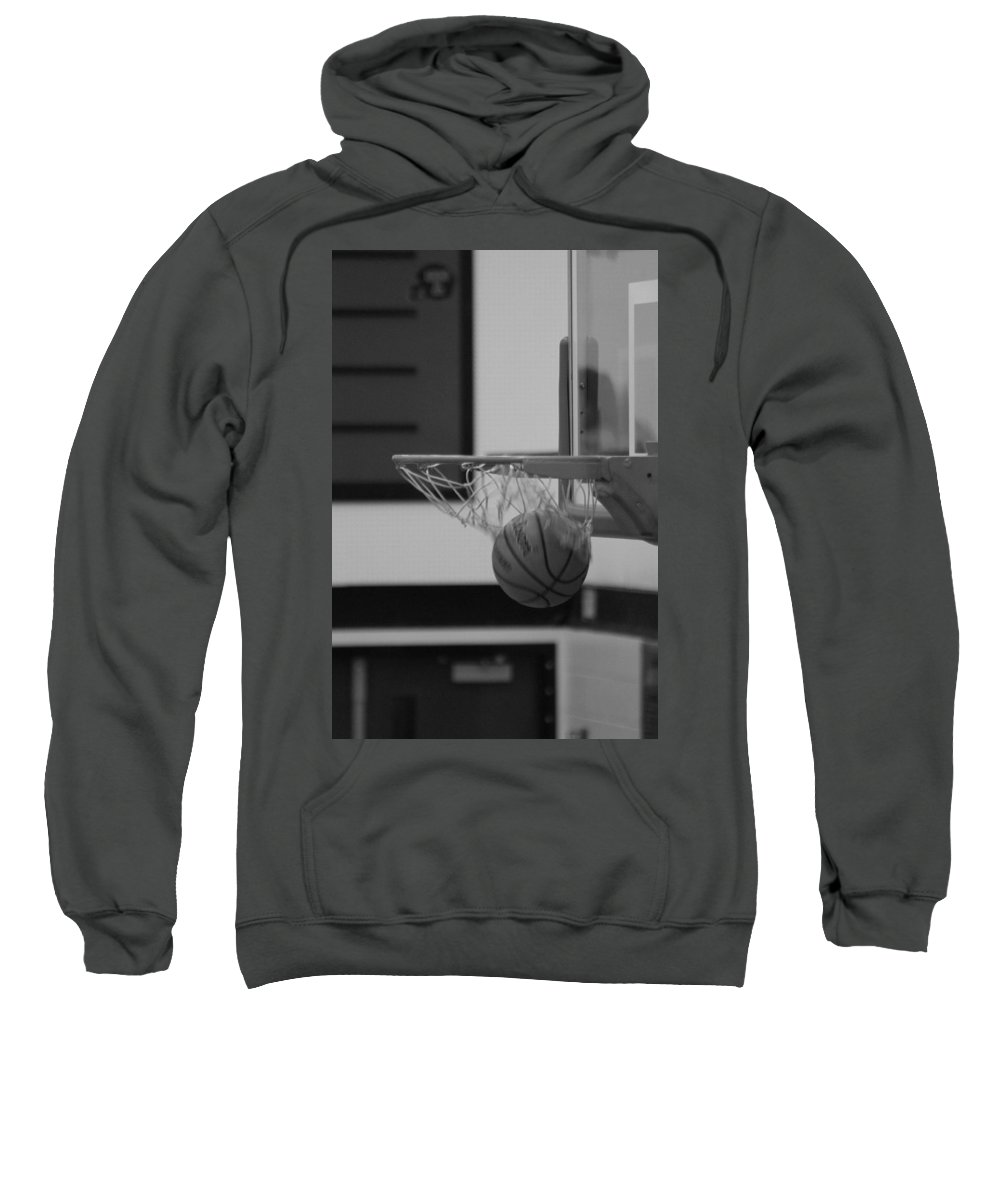 Basketball Sweatshirt featuring the photograph Release From The Net by Laddie Halupa