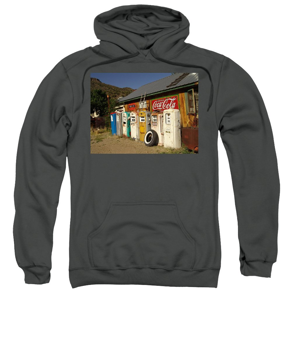 Auto Sweatshirt featuring the photograph Remember When by Carol Milisen
