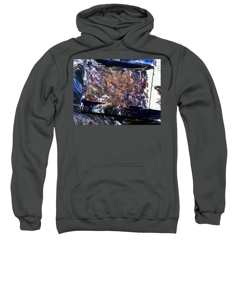 Fusionart Sweatshirt featuring the painting Revolution by Ralph White