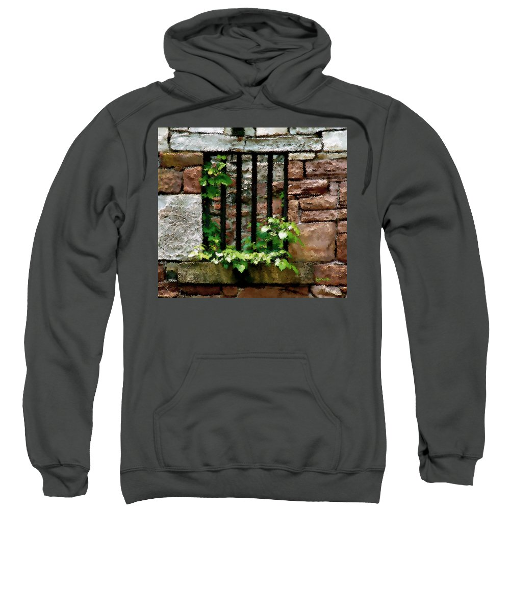 American History Sweatshirt featuring the digital art Rhus Radicans Triumphant by RC DeWinter